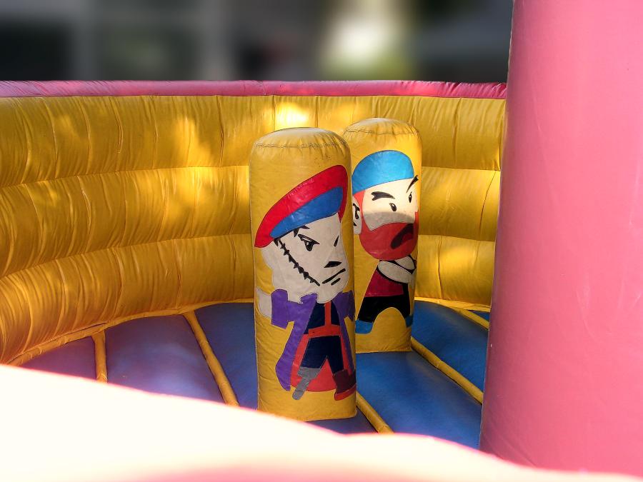 Springkussen Piratenschip